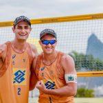 Com o apoio do Bolsa Esporte, paraibano conquista bicampeonato no Circuito Brasileiro de Vôlei de Praia